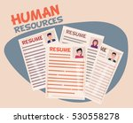 human resources concept | Shutterstock .eps vector #530558278