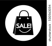 sale shopping bag icon... | Shutterstock .eps vector #530563054