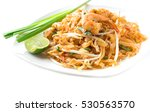 pad thai shrimp | Shutterstock . vector #530563570