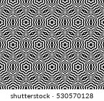 black and white color. abstract ... | Shutterstock .eps vector #530570128