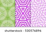 set of decorative floral... | Shutterstock .eps vector #530576896