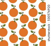 colorful pattern of oranges... | Shutterstock .eps vector #530576920
