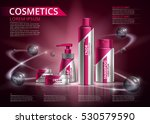 design packaging for cosmetics. ... | Shutterstock .eps vector #530579590