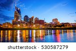 downtown nashville  tennessee... | Shutterstock . vector #530587279