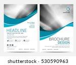 brochure layout design template ... | Shutterstock .eps vector #530590963