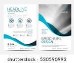 brochure layout design template ... | Shutterstock .eps vector #530590993