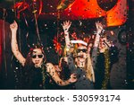 young woman at club having fun. ... | Shutterstock . vector #530593174