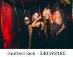 Young Woman At Club Having Fun...