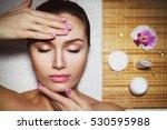 beautiful natural girl woman in ...   Shutterstock . vector #530595988
