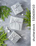 image of christmas theme on... | Shutterstock . vector #530600410