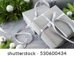 image of christmas theme on... | Shutterstock . vector #530600434