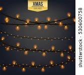 abstract creative christmas... | Shutterstock .eps vector #530600758