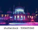 The Royal Pavilion In Brighton...