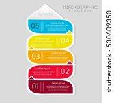 vector elements for infographic.... | Shutterstock .eps vector #530609350
