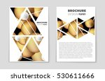 abstract vector layout... | Shutterstock .eps vector #530611666
