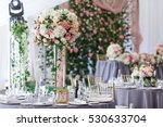 tender bouquets of white and... | Shutterstock . vector #530633704