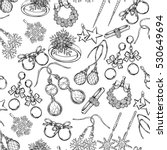 jewelry  fashion vector... | Shutterstock .eps vector #530649694