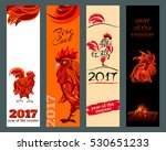 vertical banners set with 2017...   Shutterstock .eps vector #530651233
