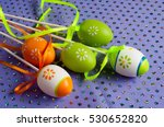 easter eggs. the most important ... | Shutterstock . vector #530652820