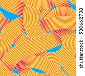 seamless op art vector pattern. ... | Shutterstock .eps vector #530662738