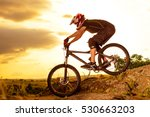 professional cyclist riding the ... | Shutterstock . vector #530663203