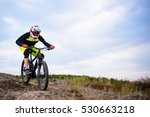 professional cyclist riding the ... | Shutterstock . vector #530663218