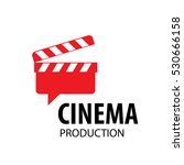 vector logo cinema | Shutterstock .eps vector #530666158
