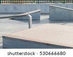 Skate Track. Close Up Of A...