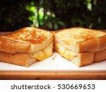 grilled cheese sandwich   Shutterstock . vector #530669653