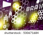 digital business background... | Shutterstock . vector #530671684
