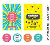 sale banners  online shopping.... | Shutterstock .eps vector #530674054