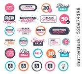 sale shopping stickers and... | Shutterstock .eps vector #530674198