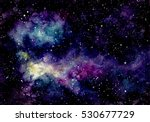 background with watercolor... | Shutterstock . vector #530677729