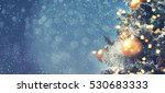 christmas background  | Shutterstock . vector #530683333