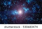 abstraction space background... | Shutterstock . vector #530683474
