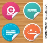 round stickers or website... | Shutterstock .eps vector #530683864