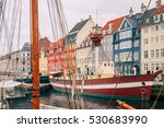 nyhavn district is one of the... | Shutterstock . vector #530683990