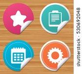 round stickers or website... | Shutterstock .eps vector #530692048