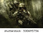 green berets soldiers in the... | Shutterstock . vector #530695756