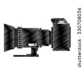 camera photo fron side view... | Shutterstock .eps vector #530708056