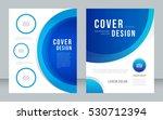 annual report  broshure  flyer  ... | Shutterstock .eps vector #530712394