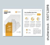 annual report  broshure  flyer  ... | Shutterstock .eps vector #530712898