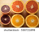 types of citrus   cara navel... | Shutterstock . vector #530721898