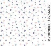 seamless pattern with triangles ... | Shutterstock .eps vector #530722180