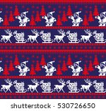 new year's christmas pattern... | Shutterstock .eps vector #530726650