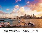 downtown miami  florida  usa ... | Shutterstock . vector #530727424