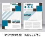 abstract flyer design... | Shutterstock .eps vector #530731753