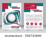 abstract flyer design... | Shutterstock .eps vector #530731840