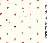cute floral pattern of small... | Shutterstock .eps vector #530732398