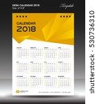 desk calendar 2018 year size...